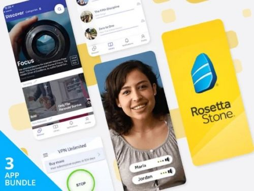 Reminder: Save 76% on the Social Distancing Lifetime Subscription Bundle Ft. Rosetta Stone