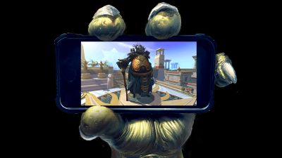 You can now take Runescape on the go thanks to mobile phone cross-play