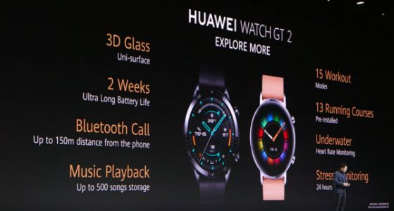 Huawei Watch GT 2 Has 2-Week Battery Life Without Wear OS