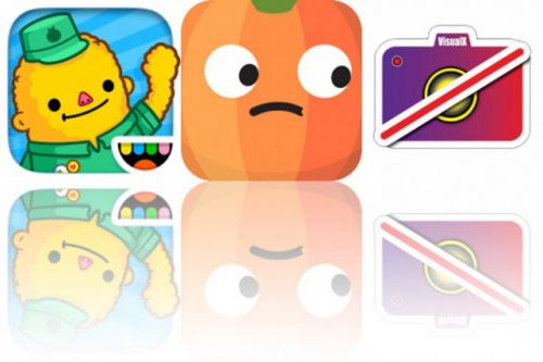 Today's Apps Gone Free: Toca Life: Town, PumknMoji and VisualX