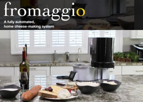 Fromaggio automated home cheesemaker