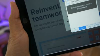 1Password version 6.8 for iOS auto-copies one-time passwords to save time