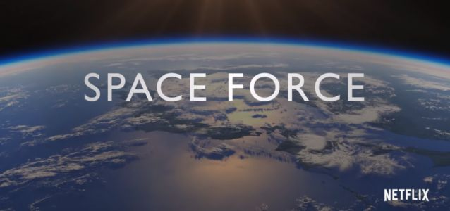 Netflix reveals Space Force comedy series before Trump gets real thing approved