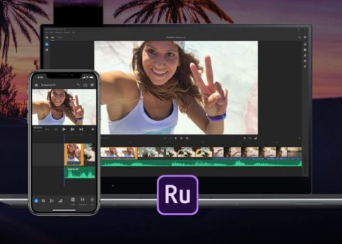 Adobe Premiere Rush CC video editing app launches