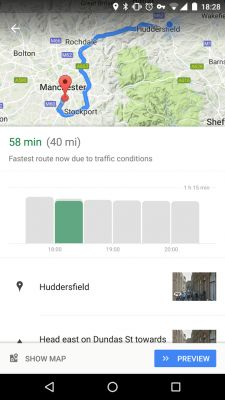 Google Maps updated to tell best time to leave and travel