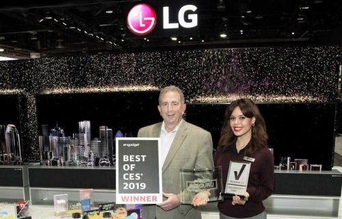 LG gets more than 140 awards at this years CES