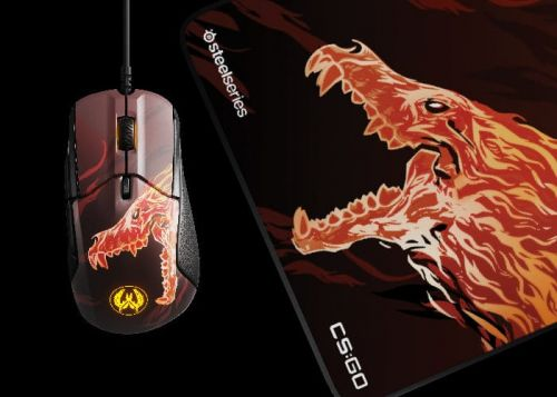 SteelSeries limited-edition CS:GO Howl gaming mouse