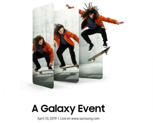 Samsung Galaxy Event 2019 scheduled for April 10th