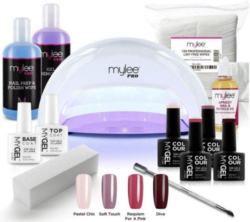 Your manicures will last for weeks with these gel polishes