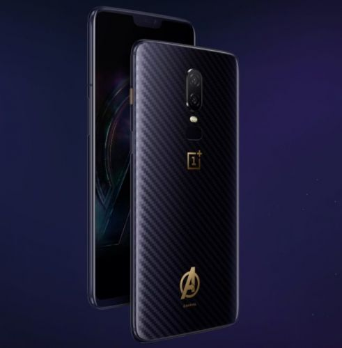 OnePlus 6 Avengers: Infinity War Edition Announced
