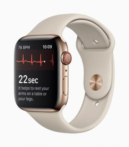 Apple Watch Heart Rate Study Reportedly Helped Win FDA Approval For ECG Feature