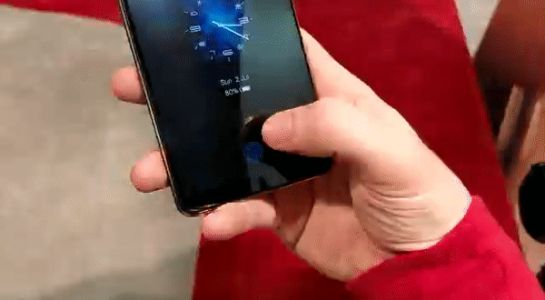 In-depth look: the world's first smartphone with an in-display fingerprint scanner