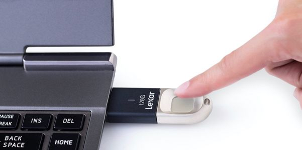 Lexar launches new JumpDrive Fingerprint secure USB 3.0 flash drives with 256-bit encryption