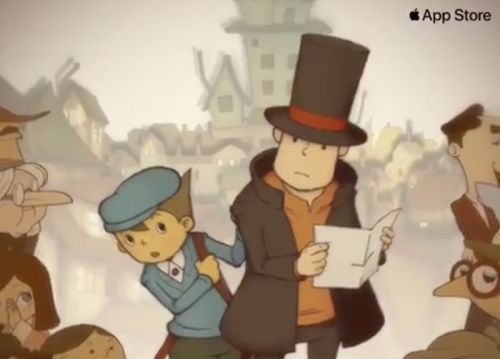 Nintendo DS Game 'Professor Layton and the Curious Village' Coming to iOS App Store in U.S