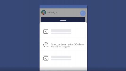 Facebook rolling out new 'Snooze' feature to temporarily block annoying friends & pages