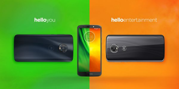 Motorola announces affordable Moto G6 and E5 lineups w/ 18:9 displays, curved rears, Oreo
