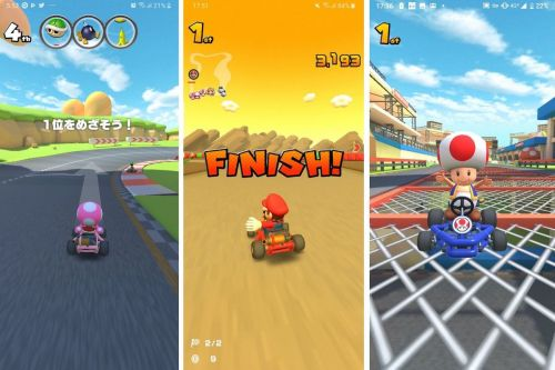 'Mario Kart Tour' Gameplay Revealed in New Images and Video Shared From Beta Players