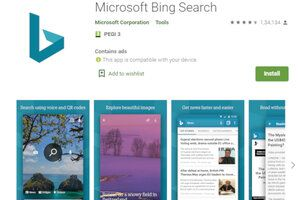 Microsoft's Bing app gets improved dark mode support for Android 10