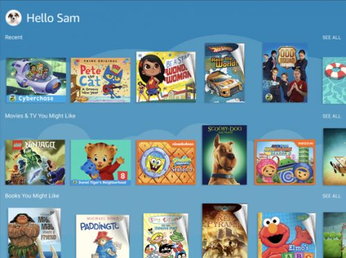 Amazon FreeTime Unlimited brings 10,000 kids' books and videos to iOS