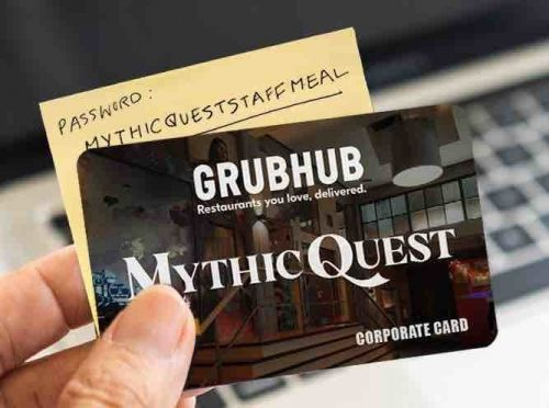 'Mythic Quest' celebrates season two premiere with $15 off at Grubhub