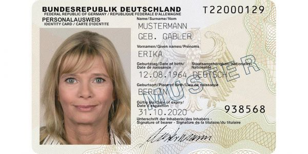 You can scan German ID cards in iOS 13; expect many other countries to follow