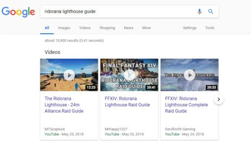Google Search On Desktop Starts Using Carousel For Videos