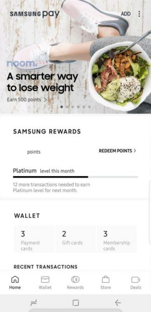 Samsung Pay Update Redesigns And Simplifies User Interface