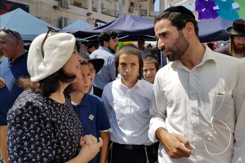 Can an Orthodox Woman Win Votes in An Ultra-Orthodox Town?
