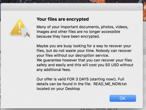 New Mac Ransomware Found in Pirated Mac Apps