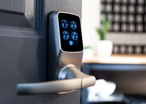 Lockly smart locks are controlled via a smartphone companion application