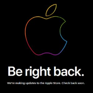Apple takes its online store down to prepare for Friday's iPhone and Apple Watch pre-orders