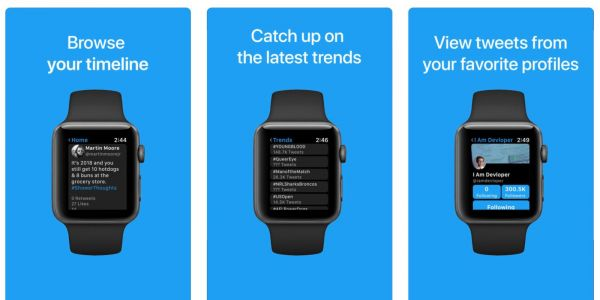 Chirp is a new app that aims to bring full Twitter support to Apple Watch