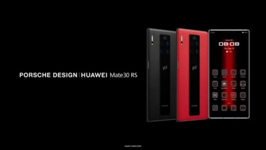 Luxury 'Porsche Design Huawei Mate 30 RS' Is Official With Kirin 990