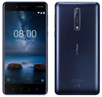 Nokia 8 Press Render and Specifications Leaked