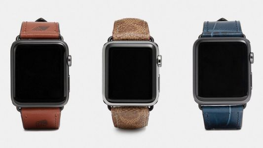 Coach unveils new designer Apple Watch bands for summer including leather 'Saddle' and 'Denim'