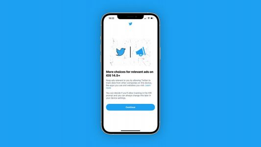 Twitter for iOS begins prompting users to enable App Tracking option