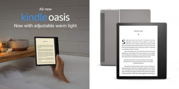 New Kindle Oasis E-reader channels Apple's True Tone displays