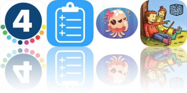 Today's Apps Gone Free: 4th Grade Vocabulary Prep, Notally, Tentatrio and More