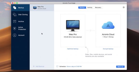 Acronis True Image 2020 launches with automatic replication of local Mac backups to the cloud, backup up scheduling, more