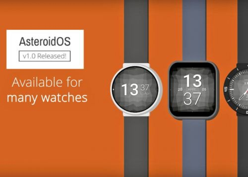 AsteroidOS v1.0 Released Wearable Open Source Operating System