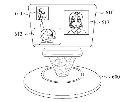 Samsung Patents 3D Display With Image Recognition, 3D User Interface
