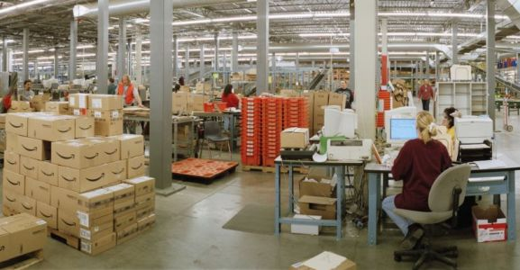 Amazon made video games for its workers to reduce tedium of warehouse jobs