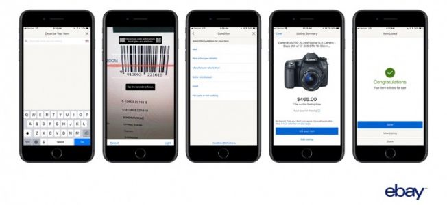 EBay for iOS Gains Barcode Scanning Feature That Can Complete Listing Process 'Within Seconds'