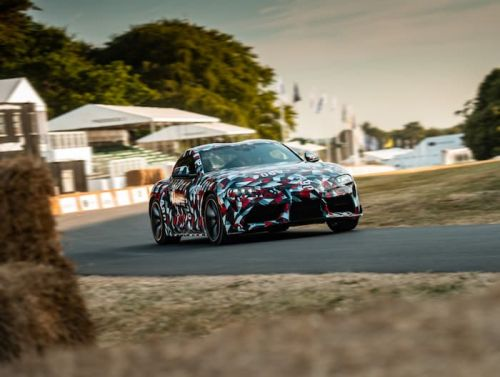 New Toyota Supra Prototype Poses For The Camera