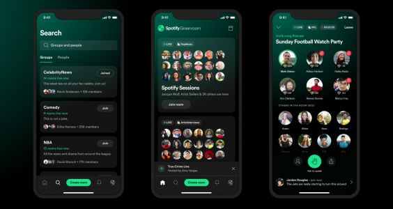 Spotify announces live audio experience Greenroom