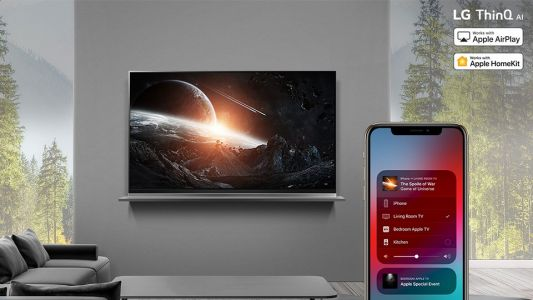 LG's 2019 ThinQ AI TV AirPlay 2 and Homekit support rolls out
