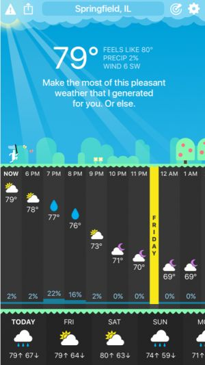Carrot Weather Update Brings New Weather Sources for Premium Club Subscribers