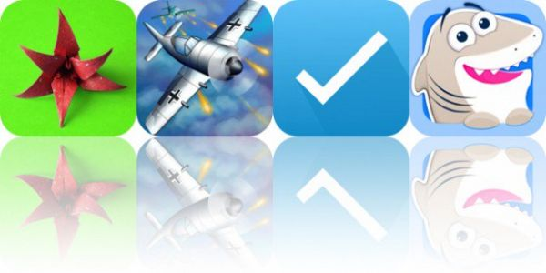 Today's Apps Gone Free: Origami Flowers, Sky Aces 2, Remember to Buy and More