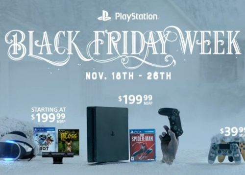 PlayStation Black Friday deals available from today