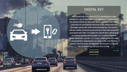 Car Consortium That Includes Apple Announces Digital Car Key Specification for Smartphones